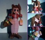 Papercraft Aerith by Xanokah