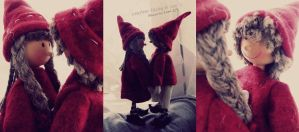 christmas dolls.. by 97lessi