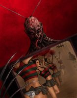 Freddy Krueger Smells like teen spirit colors by DougSQ