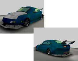 My First Car Mazda RX-8 by A7J