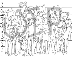 WIP character height by Letipup