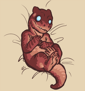 Adorable Hatchling by HuntahV