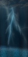 Hail and Lightning by 0LightsOut1