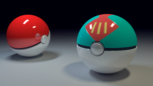 Pokeballs WIP by JARV69