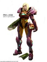 Samus Aran - Gravity Custom by Smexyheroes