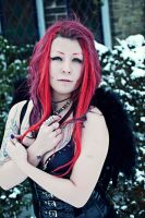 Angel with the scabbed wings... II by miss-zombi