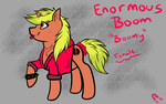 Boomy ref~! by BoomyBrony