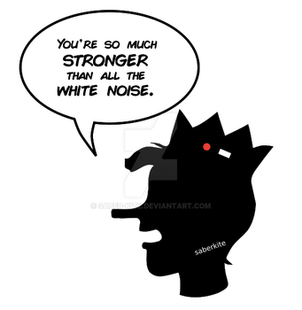 Jughead: Stronger than all the white noise by saber-kite