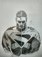 Superman x Justice Lord Superman by KyubiPhua