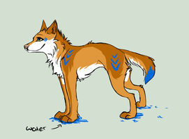 Wolf Adopt 2 by HiromiWolf