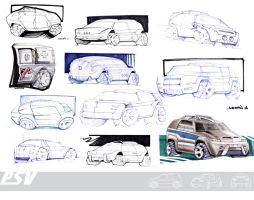 College Police Car Project by ManicGraphix