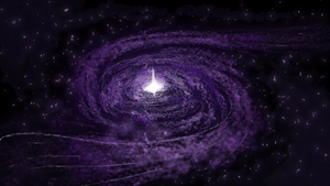 Violet Galaxy (1920x1080) (16:9) by ComikzInk