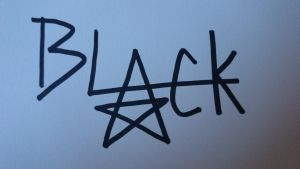 Black Star Autogramm!! by Alex-Chii
