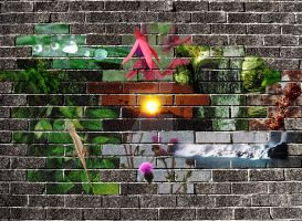 Wall of nature by CoasterLass