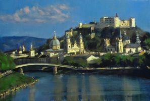 A study of Salzburg by vee209