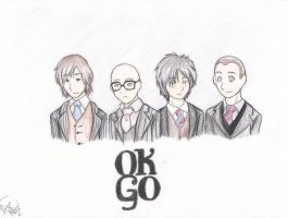 okgo color by hardcorerocker117