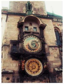 Astronomical Clock by Violet-Spider