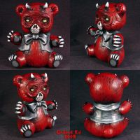 Devils Little Plaything statue by Undead-Art