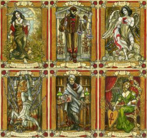 Penny Dreadful Cards preview by BohemianWeasel