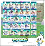 Hero Evolution Chao Chart by ChaoGarden