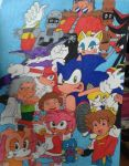 Sonic X Character Collaboration by XxSuzukiMidnitexX