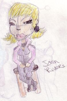 Joan Rivers by AbjectDerelict