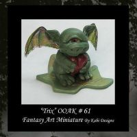 Trix Fantasy Art Miniature by KabiDesigns