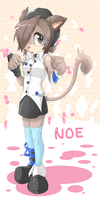 noe the cat by xilefti
