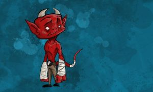Little Devil by biggins23