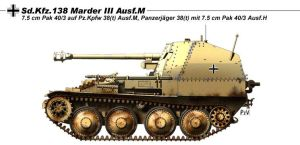 Sd.Kfz.138 Marder III Ausf.M by nicksikh
