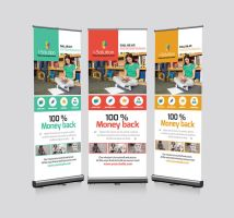 Roll Up Business Banners Template by Designhub719