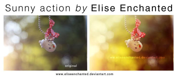 Sunny action by EliseEnchanted
