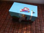 Hand-painted Mario box! by dnort709