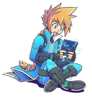 Electric Gameplay - Azure Striker Gunvolt (3DS) by marcotte
