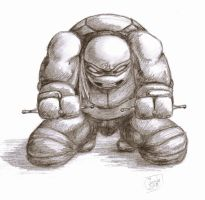 Raph Rage by carriehowarth