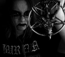 HAIL Baphomet by satanen
