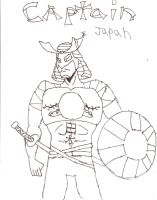 Captain Japan by SpicyTaco1