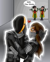 Slade and Blades Valentine by LibraryNinja