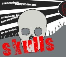 Skulls Everywhere by sonic21