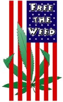 Free the weed by Tyger-graphics