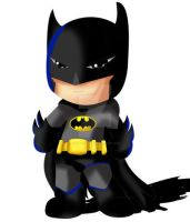 Batman Chibi by ExoroDesigns