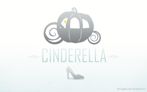 DISNEY MINIMALIST: Cinderella by johngreeko