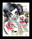 Breathing Bones And Sillicone by tainted-orchid