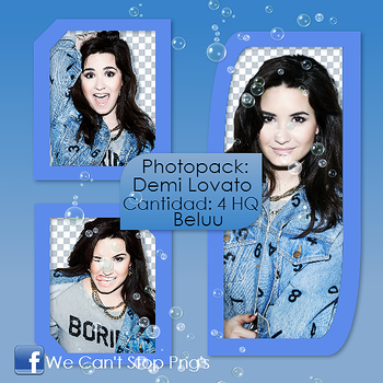 Photopack Png Demi Lovato #17 by BeluuBieberEditions
