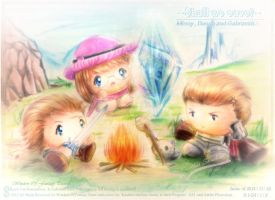 Missy's Adventure with Basch and Gabranth by Kauthar-Sharbini