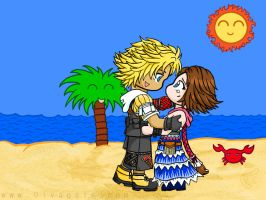 Tidus and Yuna - Visual Prozac by Jessami