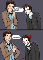 the Doctor and Edward Cullen by Mad-Hattie
