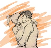 MaKorra: Kiss by xYaminogamex