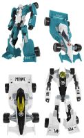 Machine Wars Mirage and Prowl Digibash by Air-Hammer