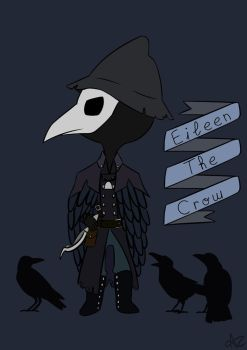 Bloodborne - Eileen The Crow by AlcoreCastan